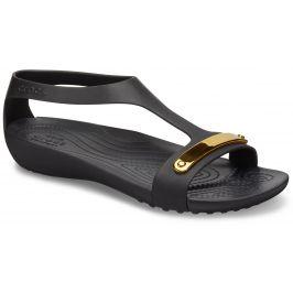 Crocs Metalic Serena Sandal Black Černá 37-38