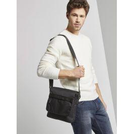 Tom Tailor pánská látková taška 27301/60 Černá