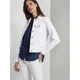 Tom Tailor dámská džínová bunda 1019609/20000 Bílá XL