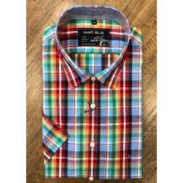 Marvelis volnočasová košile s krátkým rukávem 6118/52/35 Multi L