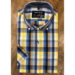 Marvelis volnočasová košile s krátkým rukávem 6086/52/15 Multi L