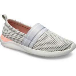 Crocs LiteRide Mesh Slip On Pearl White/White Černá 37-38