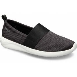 Crocs SwiftWater Flip - žabky Black/Black Černá 37-38