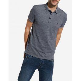 Wrangler pánské tričko s límečkem W7B26KI74 Červená L