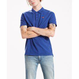 Levis pánské tričko s límečkem 22401-0061 Modrá L