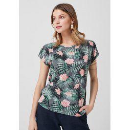 s.Oliver dámské triko s květinovým potiskem 14.905.32.4340/59A4 Multi 42