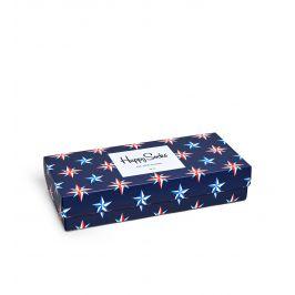 Happy Socks ponožky v dárkové krabičce XNAU09-6000 Modrá 41-46