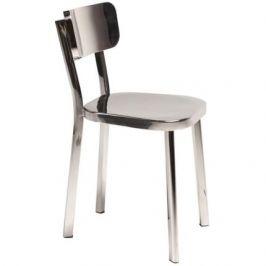 DAN-FORM Židle DanForm Carisma s podnoží z leštěné oceli