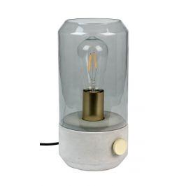 White Label Living Betonová stolní lampa WLL Kato