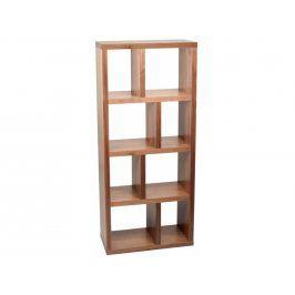 Designová knihovna Castelo 4 70 cm, ořech 9500.318641 Porto Deco