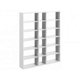 Designová knihovna Manoel II., matná bílá 9500.515248 Porto Deco