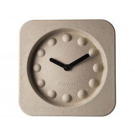 Nástěnné hodiny ZUIVER PULP TIME SQUARE, béžová 8500019 Zuiver