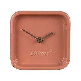 Stolní hodiny ZUIVER CUTE, růžová 8500049 Zuiver