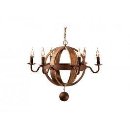 Závěsné světlo Banteno II, dřevo/kov 114165 CULTY