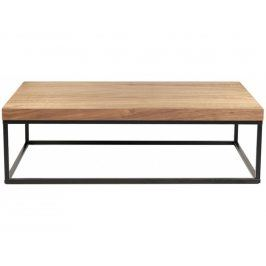 Konferenční stolek Xanti II, černá podnož, ořech 9500.620492 Porto Deco