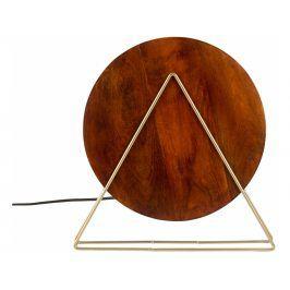 Stolní lampa DUTCHBONE LOUIS Ø 30 cm, mangové dřevo 5200045 Dutchbone