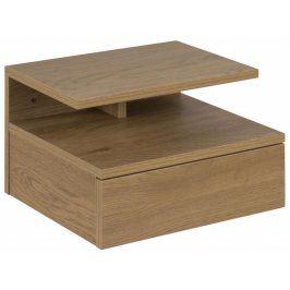 Noční stolek Alison, dub SCHDN0000074225 SCANDI