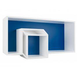 Nástěnná knihovna Cubo 9300.167584 Porto Deco