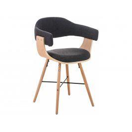 Jídelní židle Dancer, tmavě šedá, podnož dub | -50 % Scsv:181086956 DMQ+
