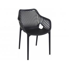Židle Diga s područkami, černá | -50 % S72370 CULTY +