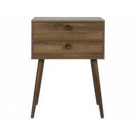 Noční stolek Giver, ořech dee:376135 Hoorns