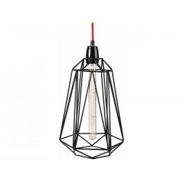 Závěsné světlo Diamond 5, černá/červená filamenstyle017 FILAMENTSTYLE