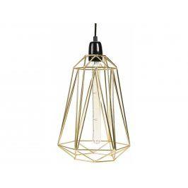 Závěsné světlo Diamond 5, zlatá/černá filamenstyle014 FILAMENTSTYLE