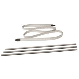 Lišta Outwell Dual Beading Connect Set 7-7+5 mm Barva: bílá