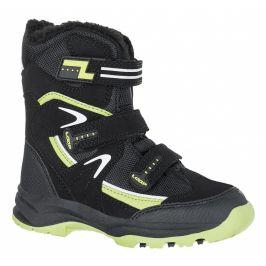 Dětské zimní boty Loap Mareo Dětské velikosti bot: 22 / Barva: jet set/green