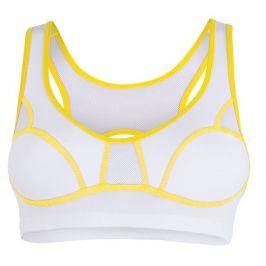 Podprsenka Sensor Lissa bílá/žlutá Velikost podprsenky: 70B / Barva: bílá / žlutá