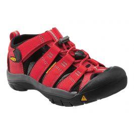 Juniorské sandály Keen Newport H2 JR Dětské velikosti bot: 34 (2) / Barva: ribbon red/gargoyle