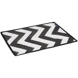 Bo-Camp Prostírání Bo-Leisure Placemat Wave Barva: černá/bílá