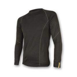 Pánské funkční triko Sensor Merino Wool Active dl.r. Velikost: L / Barva: černá