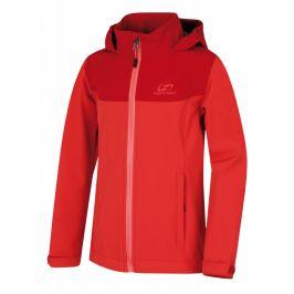 Dětská bunda Hannah Abona JR Dětská velikost: 128 / Barva: červená
