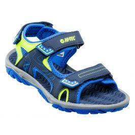 Dětské sandály Hi-Tec Menar JR Dětské velikosti bot: 28 / Barva: modrá