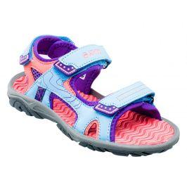 Dětské sandály Hi-Tec Menar JRG Dětské velikosti bot: 28 / Barva: modrá/růžová