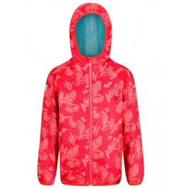 Dětská bunda Regatta Printed Lever Dětská velikost: 152 (11-12) / Barva: růžová