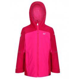 Dětská bunda Regatta Hipoint Strtch IV Dětská velikost: 116 (5-6)/ Barva: růžová