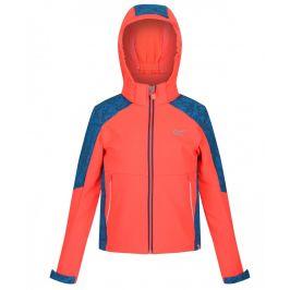Dětská bunda Regatta Astrox II Dětská velikost: 128 (7-8) / Barva: růžová