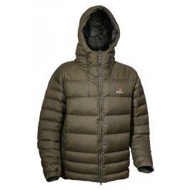 Pánská péřová bunda Warmpeace Alaskan Velikost: S / Barva: khaki