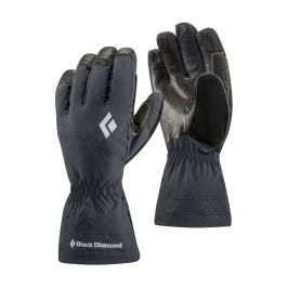Rukavice Black Diamond Glissade Velikost rukavic: L / Barva: černá
