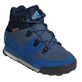 Dětské boty Adidas Snowpitch C.RDY Dětské velikosti bot: 30/31 / Barva: modrá