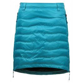 Péřová sukně Skhoop Short Down modrá (2018) Velikost: S (36) / Barva: modrá