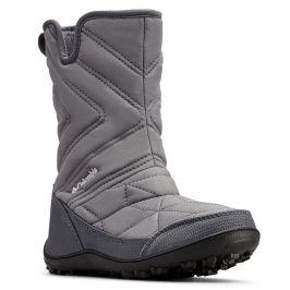 Dětské boty Columbia Youth Minx Slip III Dětské velikosti bot: 32 / Barva: šedá