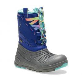 Dětské boty Merrell Snow Quest Lite 2.0 Waterproof Dětské velikosti bot: 30 (UK C11) / Barva: modrá