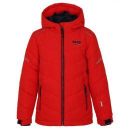 Dětská lyžařská bunda Loap Furio Dětská velikost: 112-116 / Barva: červená
