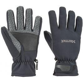 Pánské rukavice Marmot Glide Softshell Glove Velikost rukavic: M / Barva: černá