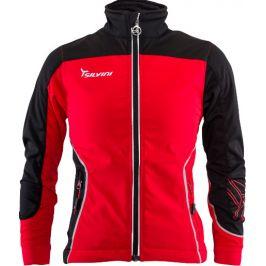Dětská softshellová bunda Silvini Rognosa CJ1328 Dětská velikost: 158-164 / Barva: červená/černá