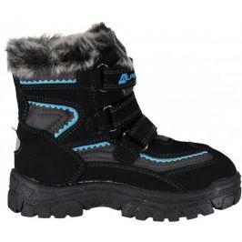 Dětské zimní boty Alpine Pro Ento Dětské velikosti bot: 25 / Barva: černá