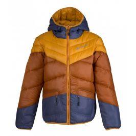 Dětská bunda Alpine Pro Sophio 2 Dětská velikost: 140-146 / Barva: hnědá